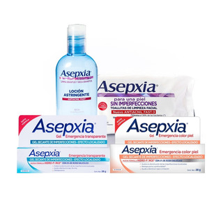 Combo Asepxia Kit Emergencia - Combate Granitos
