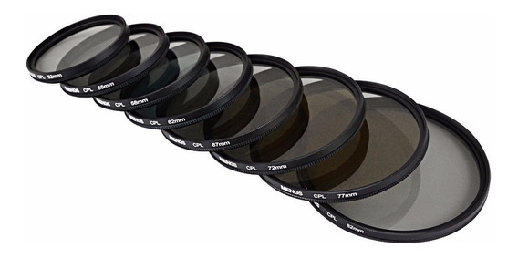 Filtro Polarizador Circular Cpl P/ Objetiva 77mm - Promocao