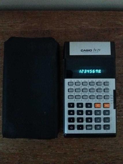 Calculadora Científica Casio Fx 29 Funcionando