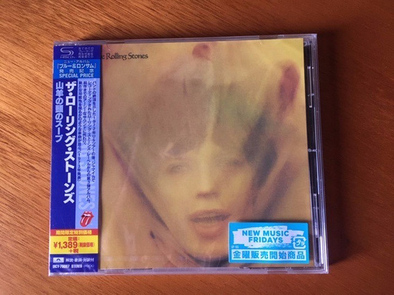 Rolling Stones Goat Read Soup Shmcd Made In Japan