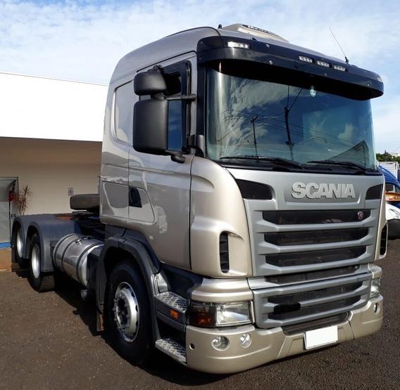Scania G440 - 6x2 - 2013 - Automática - Único Dono