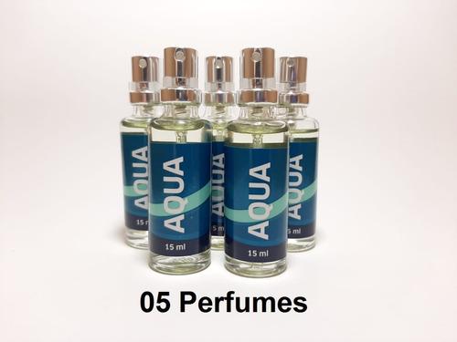 Imagem 1 de 2 de 5 Unidades - Aqua (masculino) 16 Ml, Fixação Intensa + 20h