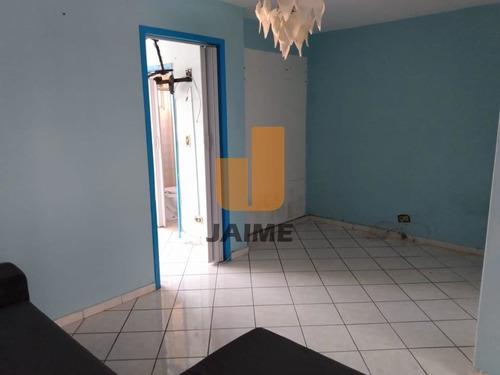 Apartamento Padrão Com 1 Dormitório E Sem Vaga. - Ja16354