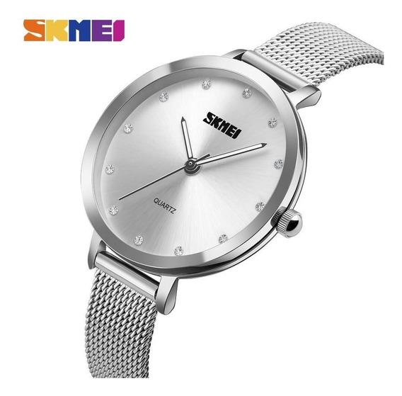 Relógio Skmei Feminino Luxo Prova D