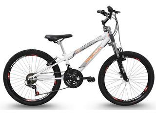 Bicicleta Usada Aro 24 Suspensao Freio Track