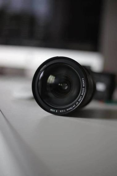 Lente Canon 24-70 2.8 Il L Modelo Novo Versão Il