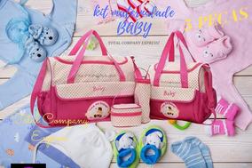 Kit Bolsa Saida Maternidade Menina Princesa 5 Pcs Promocao