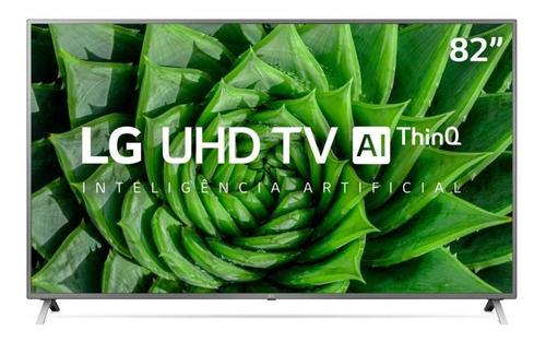 Imagem 1 de 4 de Smart Tv 82  LG 82un8000psb Ultra Hd 4k Led Hdmi Usb