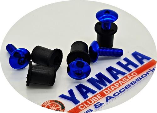Parafuso Bolha Xt660 Ténéré250 Alumínio Azul Xt 660 Tenere