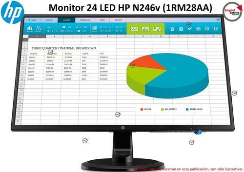 Monitor 24 Led Hp N246v Ips Full Hd Hdmi Dvi Vga 60hz