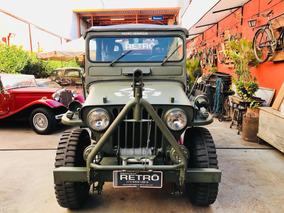 Jeep Willys 1951 Garagem Retrô