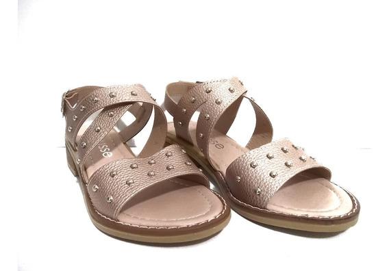Zapato Mujer Sandalias Bajas De Verano Bases Baja Moda