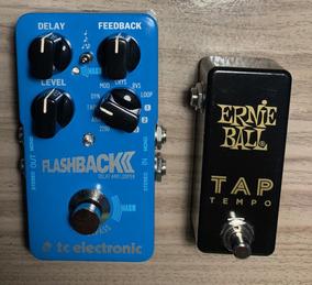 Tc Electronic Flashback 2 Delay (c/tap Ernie Ball De Brinde)