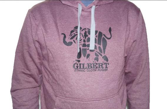 Buzo Gilbert Con Capucha Hoodie Hombre - Estacion Deportes Olivos