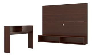 Mueble Panel Para Pantalla+ Credenza Combo 2583.0003