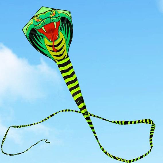 Pipa Serpente 3d Em Nylon + Linha - Pronta Entrega!