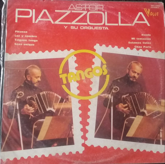 Astor Piazzolla Tangos Picasso Chau Paris Vinilo