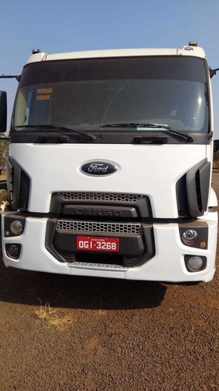 Ford Cargo 2429 E - 4 Eixo - 2013 / 8x2 - Único Dono
