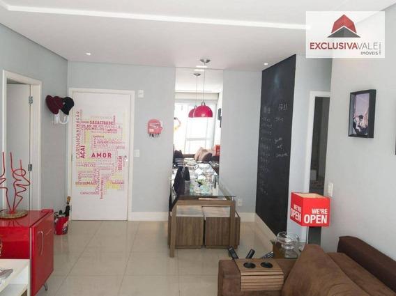 Apartamento À Venda, 67 M² Por R$ 409.000,00 - Jardim Esplanada - São José Dos Campos/sp - Ap1560