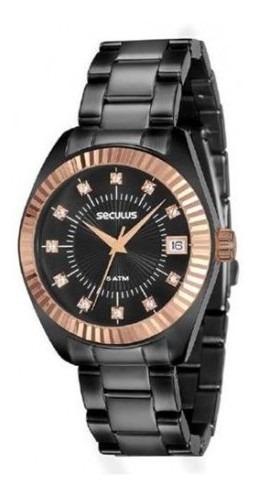 Relógio Seculus 13019lpsvis4 - Ótica Prigol