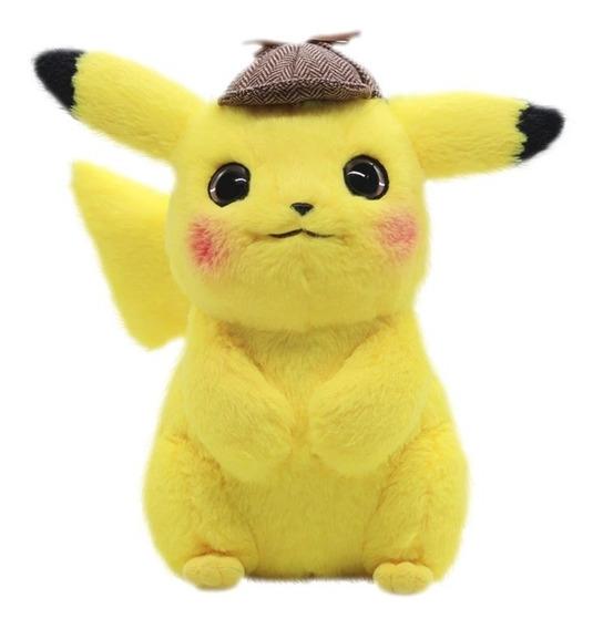 Pelúcia Pokémon Detetive Pikachu 23cm
