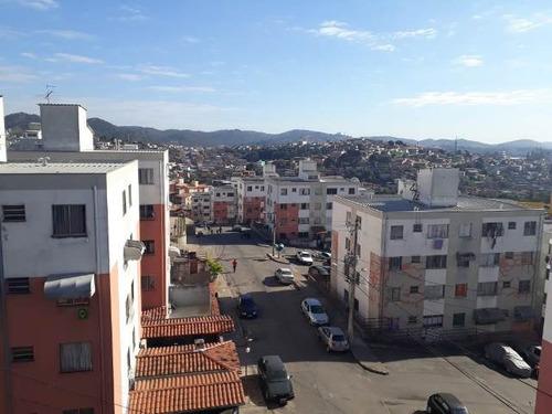 Apartamento Com 3 Quartos Para Comprar No Guadalajara (justinópolis) Em Ribeirão Das Neves/mg - Gar10840