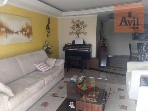 Apartamento Duplex Com 3 Dormitórios À Venda, 130 M² Por R$ 1.050.000,00 - Anália Franco - São Paulo/sp - Ad0038