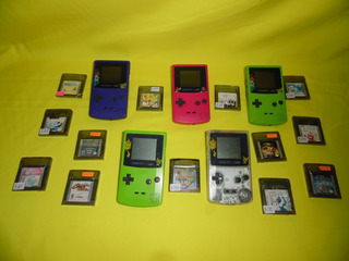 Consola Gameboy Color Con 1 Juego A Escoger