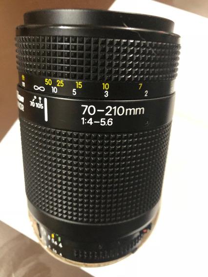 Lente Nikon 70-210mm 1:4-5.6 Serie Af, Revisada