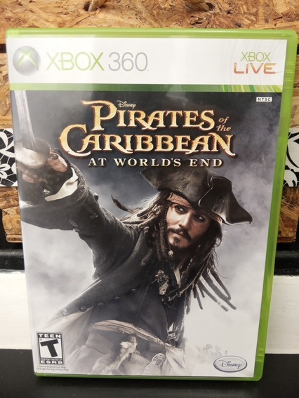 Piratas Do Caribe Xbox 360 Original