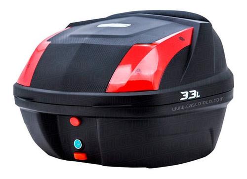 Maletero Maleta Tomcat 33 Litros Baul Moto Cascoloco Envío*