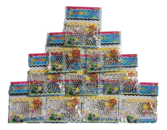 1000 Bolinhas De Gel Bolinha Cristal Decor Cresce Água Orbez