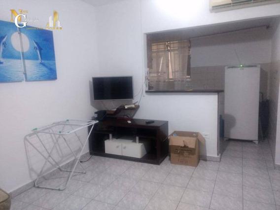 Kitnet Com 1 Dormitório À Venda, 35 M² Por R$ 125.000 - Mirim - Praia Grande/sp - Kn0243