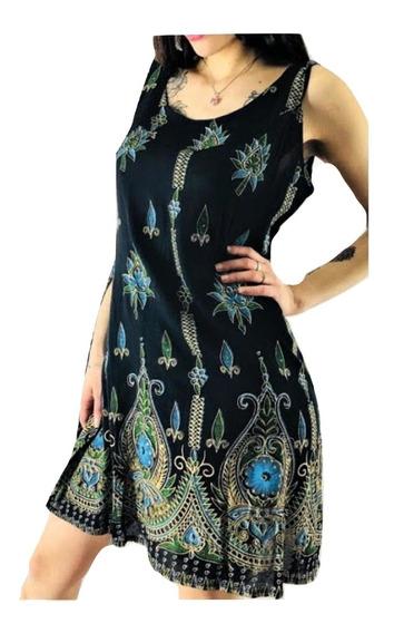 Solero Vestido Importado India Hindu Tipo Rapsodia Boho