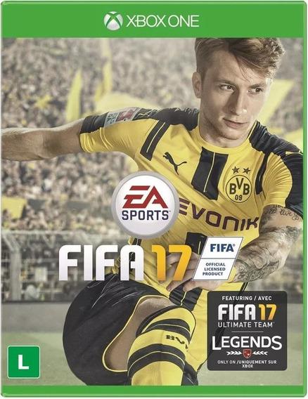 Jogo Fifa 17 Xbox One Midia Física Português Lacrado