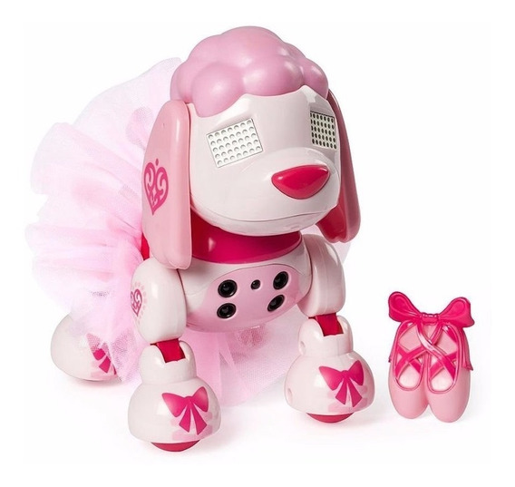 Mascota Electronica Zoomer Zuppies Prima Ballet Poodle Pup