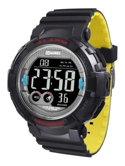 Relógio X-games Masculino Preto - 35976