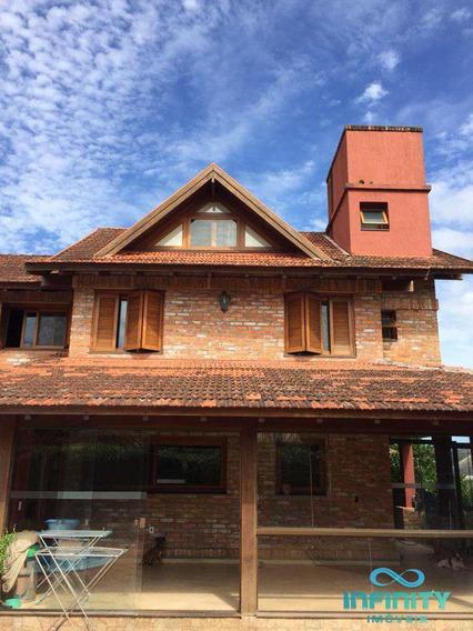 Casa De Condomínio Com 5 Dorms, Paragem Verdes Campos, Gravataí - R$ 1.950.000,00, 360m² - Codigo: 69 - V69