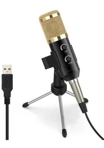 Microfono Condensador Bm900 Con Tripode Usb Para Mac Y Win
