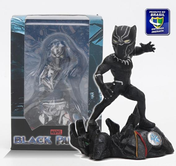 Boneco Pantera Negra 10cm + Brinde - Pronta Entrega!!!