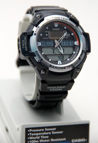 Relógio Casio Sgw 400h - Altímetro E Barômetro - 100m Resist