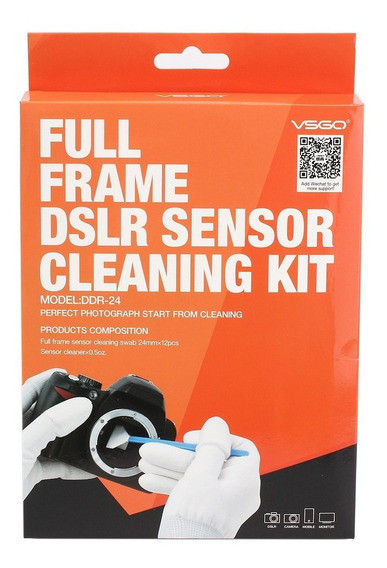 Kit De Limpeza Do Sensor Full Frame Dslr Sensor Cleaning Kit