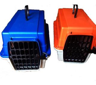 Casa Para Perro,gato,conejos Transportadora + Comedero