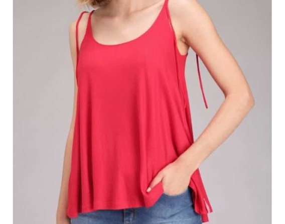Musculosa Color Tomate Talle M