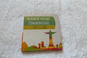 Mini Album Moedas Olimpiadas Com Bandeira