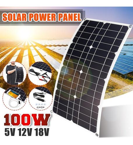 Imagen 1 de 10 de 540x280x2.5mm 100w Mono-cristalino Solar Panel Solar Flexibl
