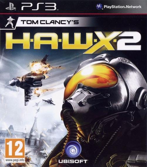 Jogo Tom Clancys Hawx 2 Ps3 Mídia Física