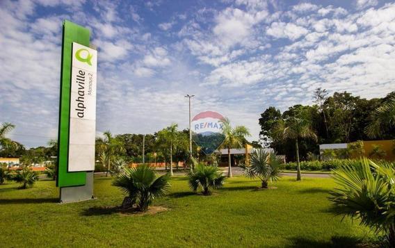 Alphaville Manaus 02 Fundo Para App , 500 M² - Ponta Negra - Te0013