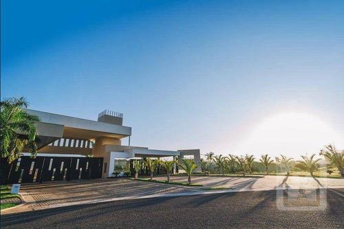 Imagem 1 de 29 de Terreno À Venda, 400 M² Por R$ 300.000 - Condomínio Royal Boulevard - Araçatuba/sp - Te0216