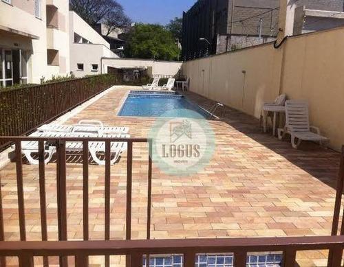 Imagem 1 de 18 de Apartamento Com 50m² Composto Por 2 Dormitórios, À Venda Por R$ 242.000,00 - Condomínio Residencial Unique Ipiranga - - Ap1649